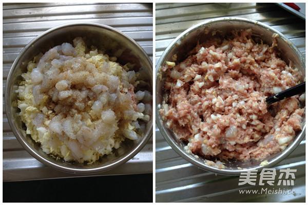 猪肉白菜虾仁水饺的做法大全