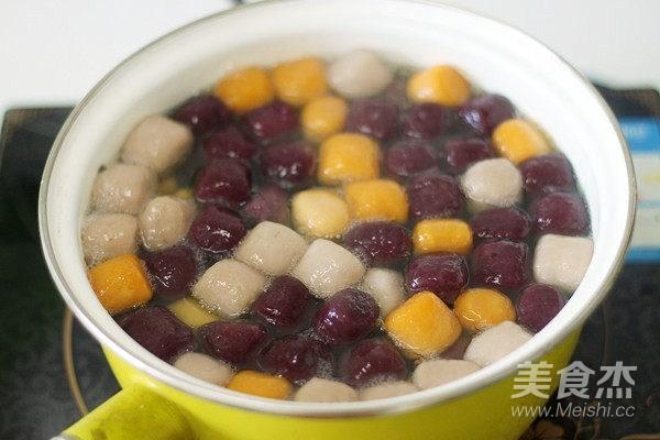 芋圆水果捞的做法图解