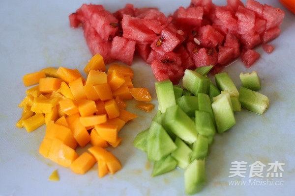 芋圆水果捞怎么吃