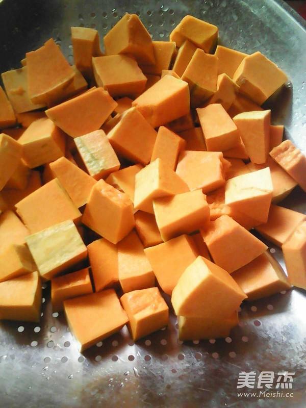 南瓜绿豆羹的做法图解