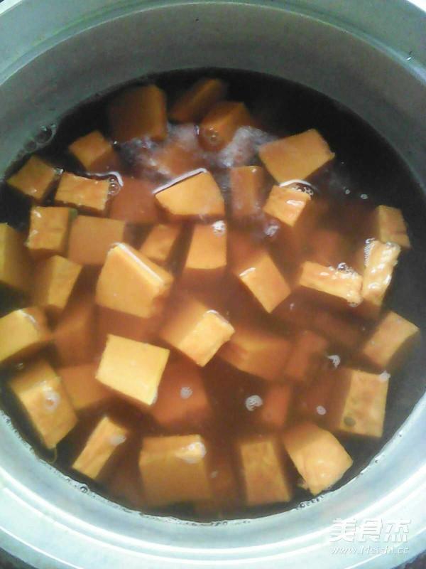 南瓜绿豆羹的简单做法