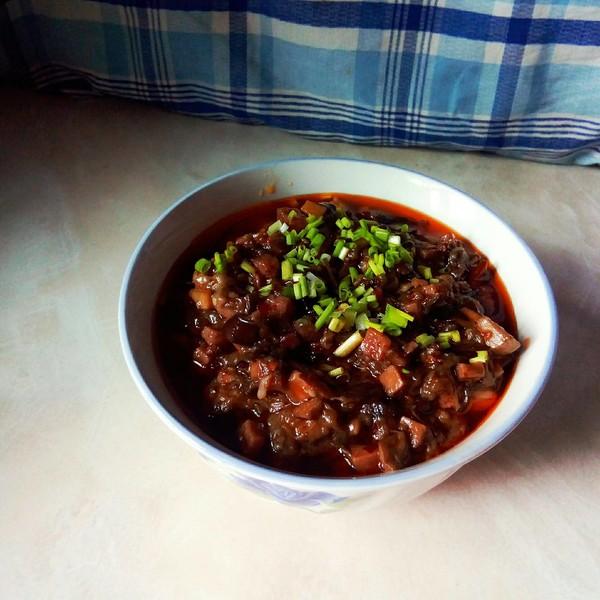 新派川菜一麻婆茄子的制作