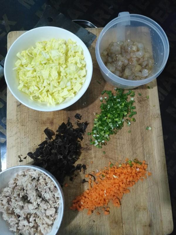 虾仁鸡肉糜砂锅粥的简单做法