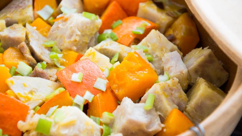 南瓜香芋煲怎么煮