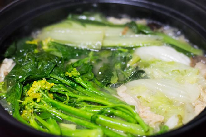 """潮汕人把新年的愿望都煮进了""""七样羹/菜""""里,然后一口吃下~怎么吃"""