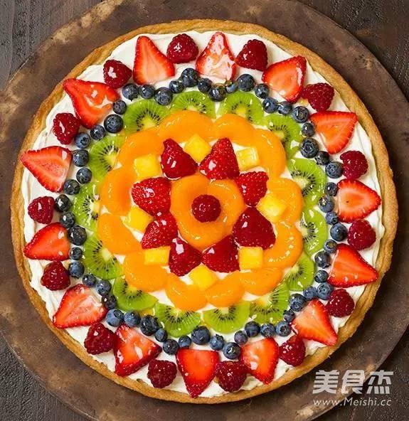 水果披萨的步骤