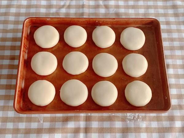 椰香奶黄饼的制作
