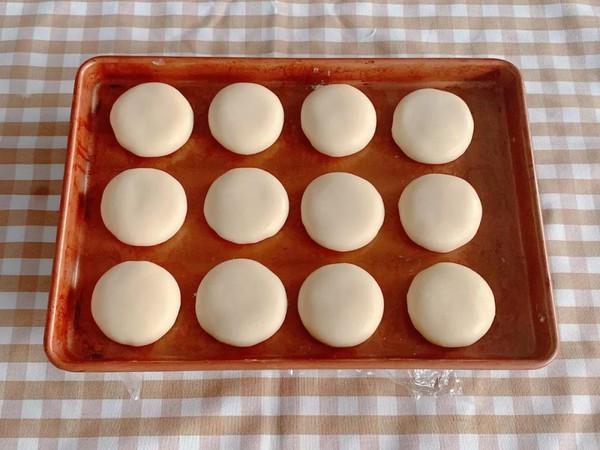 椰香奶黄饼的制作方法