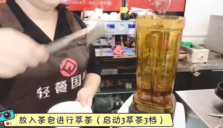 秋冬热饮——蜜桃百香果茶的做法大全