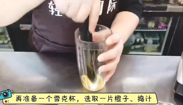 秋冬热饮——蜜桃百香果茶的做法图解