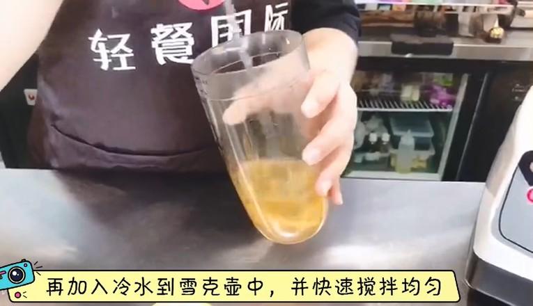 秋冬热饮——蜜桃百香果茶的家常做法
