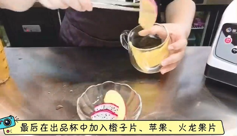秋冬热饮——蜜桃百香果茶的简单做法