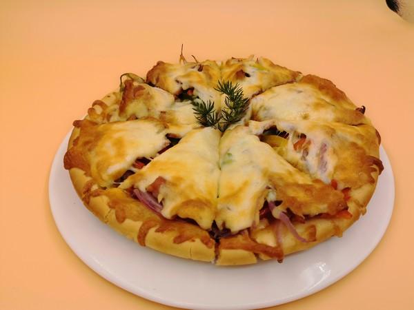 披萨︱培根披萨怎么炒