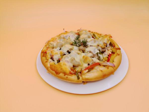 披萨︱素菜披萨怎么炒