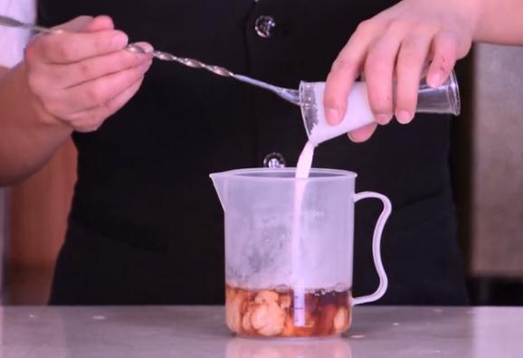 喜茶同款-紫米波波茶的做法图解