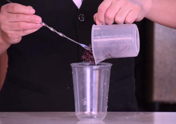 喜茶同款-紫米波波茶怎么吃