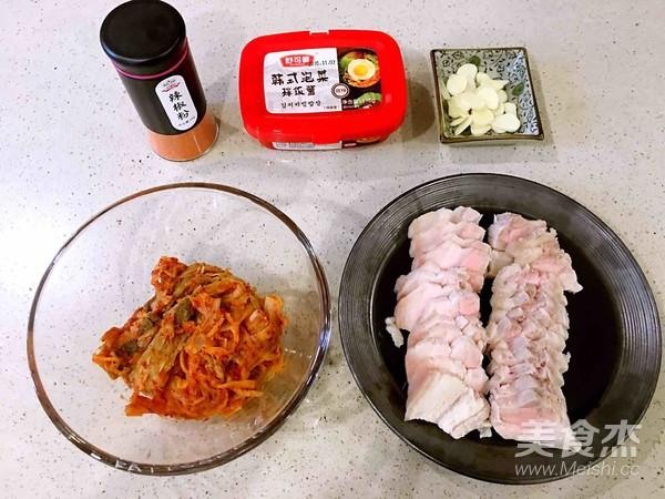 泡菜五花肉的简单做法