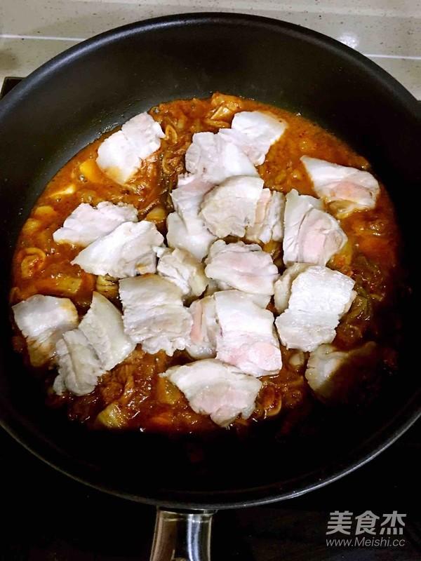 泡菜五花肉怎样做
