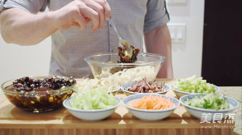 老北京炸酱面|约翰的小厨房的制作