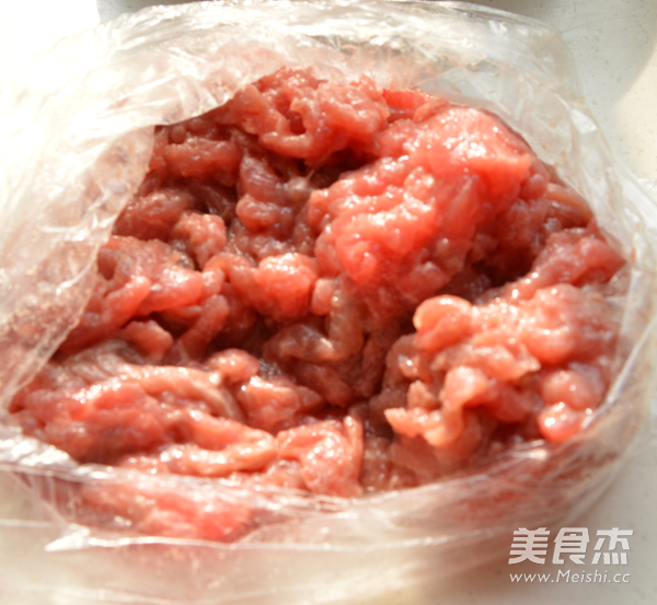 黑椒牛柳炒时蔬的做法图解
