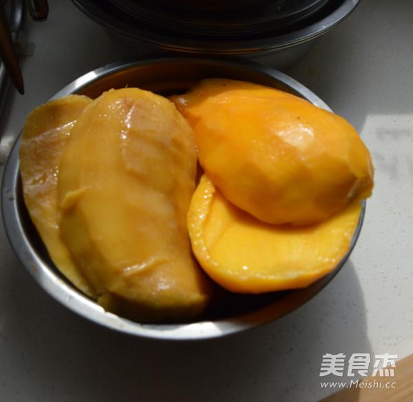 芒果糯米饭怎么吃