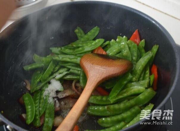 腊肉荷兰豆怎么做