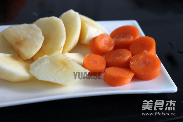 苹果胡萝卜汁的做法大全