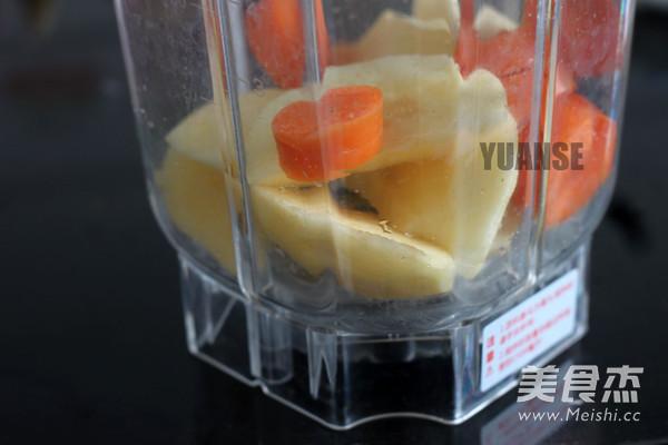 苹果胡萝卜汁的做法图解