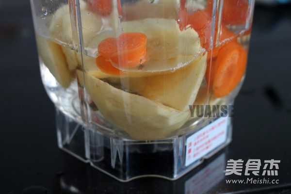 苹果胡萝卜汁的家常做法