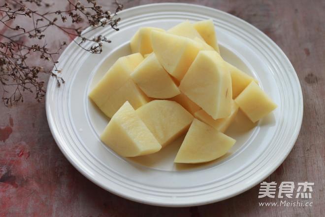 土豆番茄排骨汤的做法图解