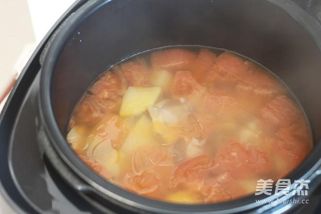 土豆番茄排骨汤怎么炖