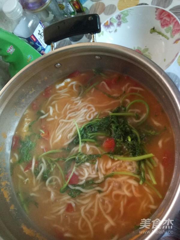 西红柿汤面怎么炖