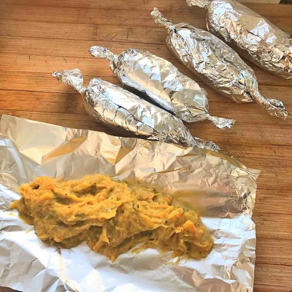 自制低脂蔬菜鸡肉肠怎么做