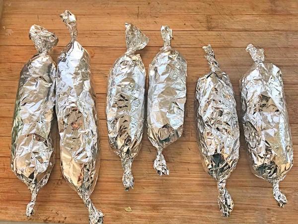 自制低脂蔬菜鸡肉肠怎么煮