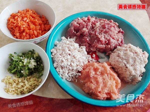 蒸莲藕香芋土豆肉饼的做法大全