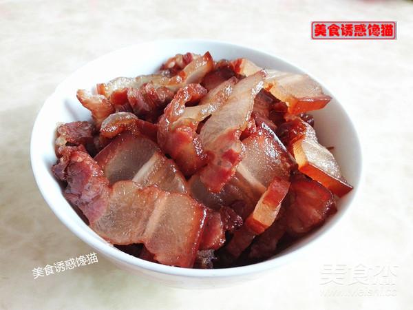 腊肉炒春笋的家常做法