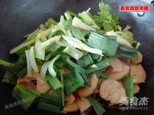 腊肉炒春笋怎么煮