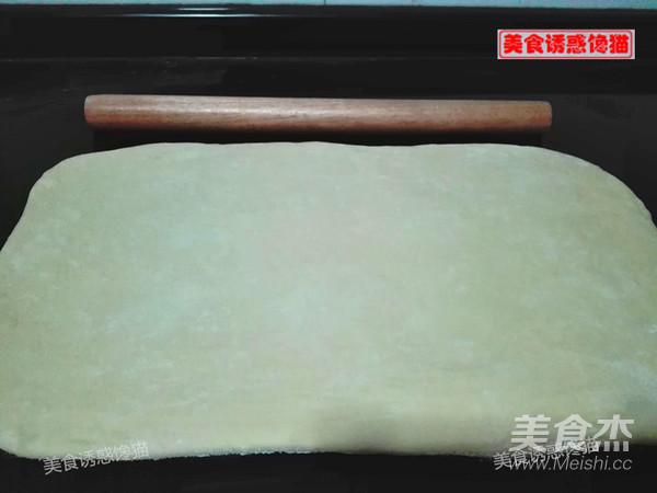 辫子肉松吐司(一次性发酵)的步骤