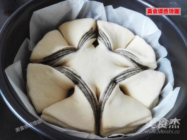芝麻酱花式面包怎样煸
