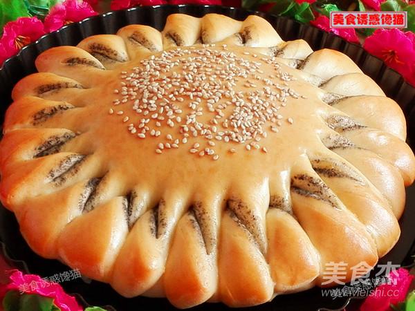 向日葵芝麻酱面包的制作方法