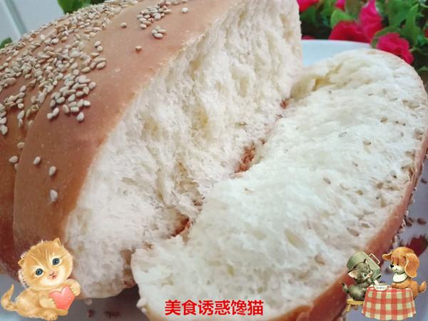 椰汁排包(一次性发酵)成品图