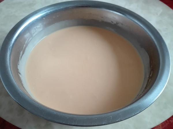 熟面粉方形蛋糕(水浴法)的家常做法