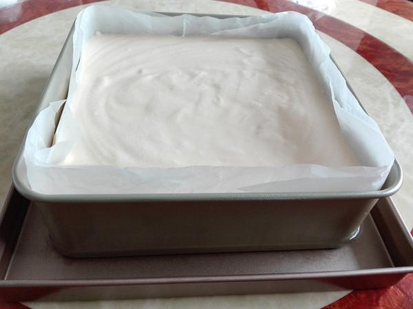 熟面粉方形蛋糕(水浴法)怎么煮