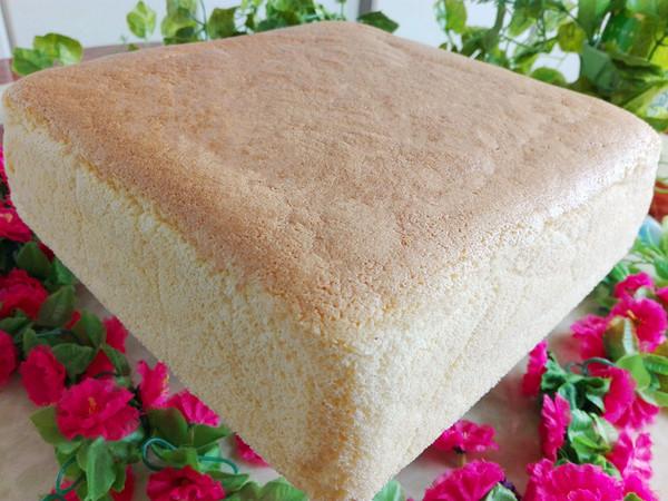 熟面粉方形蛋糕(水浴法)怎么煸