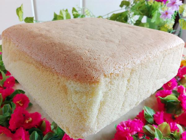 熟面粉方形蛋糕(水浴法)怎样煸