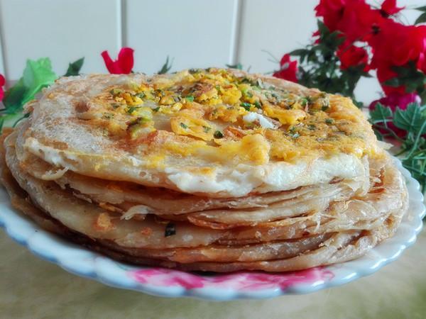 鸡蛋千层葱油饼怎样做