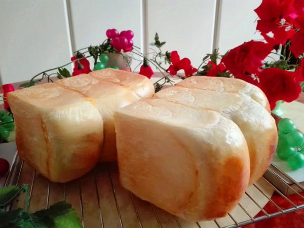 红枣豆沙吐司(一次性发酵)成品图