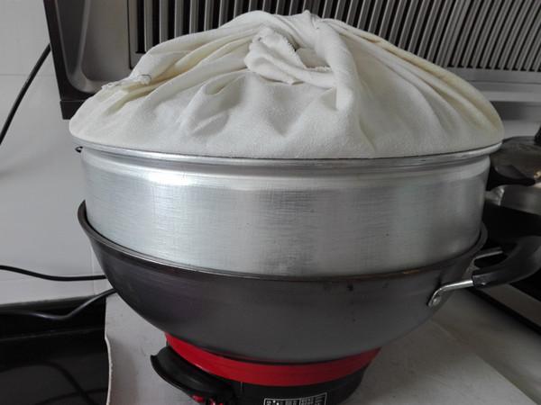 蒸豆沙面包(一次性发酵)的步骤