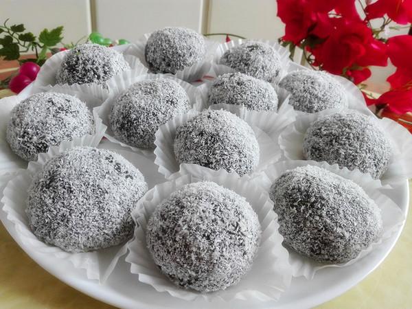 椰蓉花生芝麻艾粑粑怎么煮