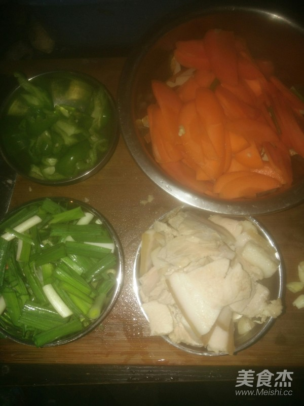 胡萝卜回锅肉的做法大全